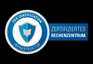 Zertifiziertes Rechenzentrum Infrastruktur